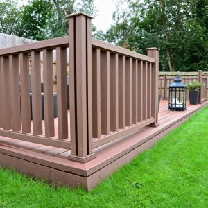 Composite Wood Balustrades & Railings