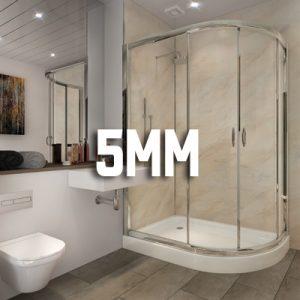 5mm Bathroom Cladding Boards