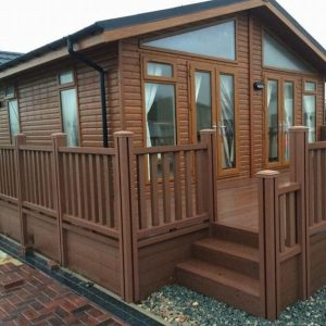 Holiday Home Decking and Balustrades