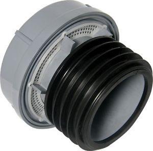Floplast grey soil pipe fitting air admittance valve