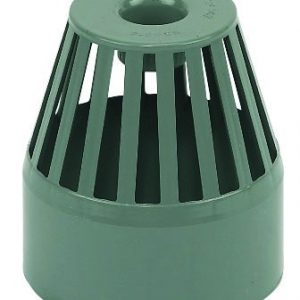 Floplast grey soil pipe fitting vent cowl