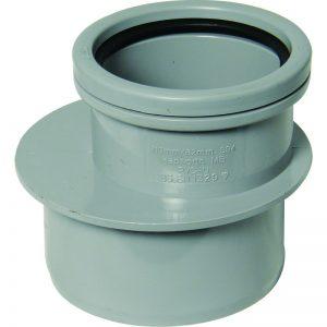 Floplast soil pipe fitting reducer