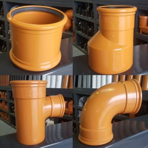 160mm Underground Drainage Pipe and Fittings