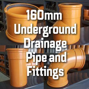 160mm Underground Drainage