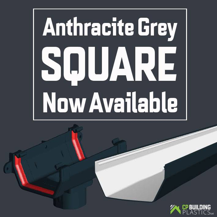 Anthracite Grey Square Guttering